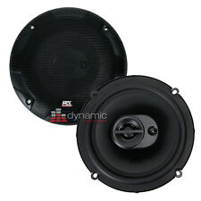 "MTX Audio TERMINATOR653 Car 6-1/2"" 3-Way Terminator Series Coaxial Speakers New"