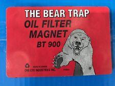 THE BEAR TRAP REUSABLE OIL FILTER MAGNETIC PAD MAGNET 900 SER 1MP BT900