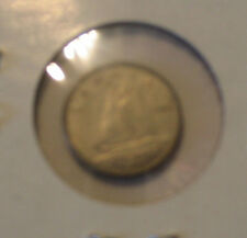 1963 CANADIAN DIME COIN CANADA 10c SILVER
