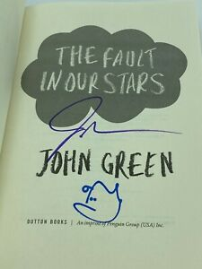 *SIGNED AND DOODLED* John Green THE FAULT IN OUR STARS