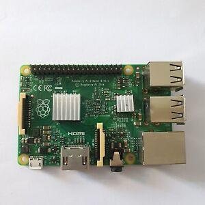 Raspberry Pi 2 Model B v1.1 with Heatsinks