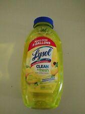 Lysol Clean Fresh Multi Surface Cleaner, Lemon & Sunflower - 10.75oz (1 bottle)