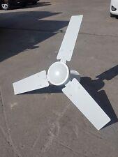 """White metal Ceiling Fan 36"""" 900mm sweep 45w"""