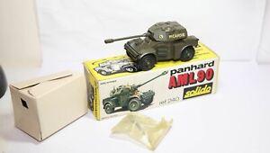 Solido No 240 AML 90 Tank In Its Original Box - Near Mint Vintage Model