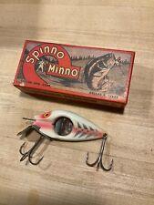 Vintage Spinno Minno lure and original box excellent condition