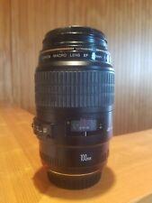 Canon EF 100-100mm f/2.8 USM Macro autofocus Lens - great condition.