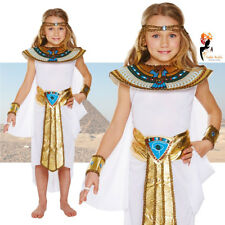 Girls Cleopatra Egyptian Queen Fancy Dress Costume Egypt Kids Book Week Day
