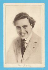 ACTOR - PICTURES LTD. POSTCARD - ACTOR  -  GEORGE  WALSH  (A)  -  C 1920's