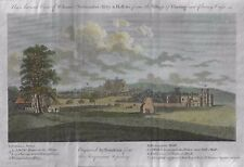 ANCIENT VIEW OF ST. JAMES, WESTMINSTER ABBEY - Hand-Colored Engraving - c1770