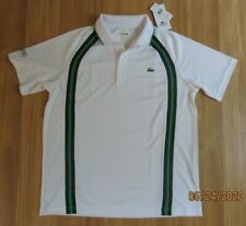 Lacoste Mens Sport Short Sleeve Polo Shirt NWT Sz 6/XL Ultra Dry