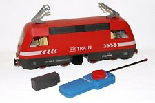 Playmobil - Güterzug Lok aus 4010 Eisenbahn RC E-Lok