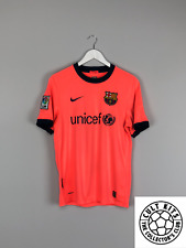 BARCELONA 09/10 Away Football Shirt (S) Soccer Jersey Nike