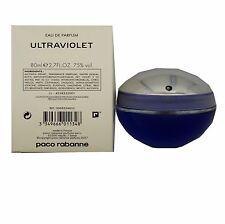 ULTRAVIOLET BY PACO RABANNE EAU DE PARFUM SPRAY 80 ML/2.7 FL.OZ. (T - O/P)