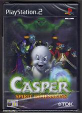 PS2 Casper Spirit Dimensions (2001), UK/Scanda Pal, New & Sony Factory Sealed