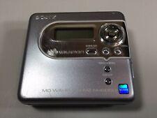 Sony Walkman Net MD Portable MiniDisc Player MZ-NH600D Net MD Hi MD Turns On