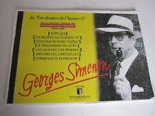 """GEORGES SIMENON -  """"I DOSSIER DELL'AGENZIA 'O'. - FONDAZIONE ROSELLINI"""