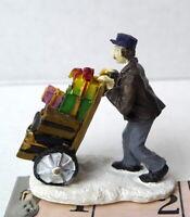 Grandeur Noel Hotel Porter Victorian Christmas Village  2001 Miniature