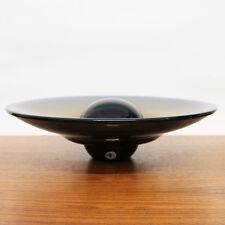 BERANEK GLAS SCHALEN OBJEKT JAROSLAV WASSERBAUER 32CM UFO CZECH ART GLASS BOWL