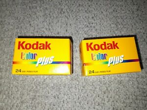 Kodak Color Plus 24 Exp Film unopened BRAND NEW