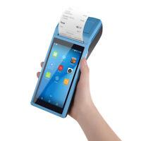 Handheld Android 6.0 POS Terminal BT WIfi Receipt Printer 5.5'' Touchscreen V1V7