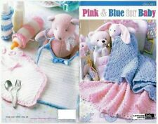 Pink & Blue For Baby Crochet Booklet