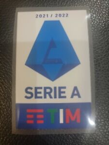 Serie A Patch batch Italy Soccer League 2021 - 2022