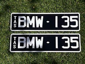 Tasmanian Custom Number Plates BMW 135 - 135i M135i