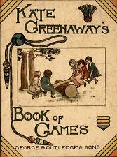 Spiele/Spielzeug. - Greenaway, Kate. Greenaway's Book of Games. EA 1889