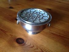 Viners, Sheffield, England, Silver Plated Posy Bowl