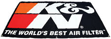 K&N Air Filter Banner Flag Holley NOS HSV Nismo Edelbrock Weiand Drag Drift Race
