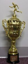 "NEW 20""+ Cup Trophy Award Gold Finish - All Plastic"
