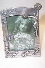 "Cheerleader Pom Pom Metal Stand Alone Photo Frame 2.5"" X 3.5"" New"