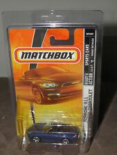 MATCHBOX PORSCHE 911 CARRERA CABRIOLET, SPORTS CARS SERIES #19, 2007 Blue