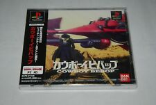 [ NEW !] COWBOY BEBOP Sony PlayStation soft Japan PS1 factory sealed RARE