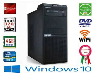 COMPUTER ACER VERITON CPU INTEL QUAD CORE i 5 2400  4 GB RAM WIFI WINDOWS 10 PRO