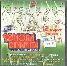 CD - Sonora Dinamita - De Lucho Argain - 12 Tracks - UPC - 7509995491341 New