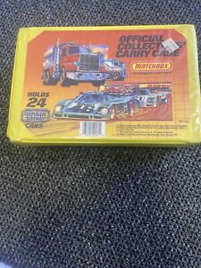Matchbox Official Collectors Carry Case 1983 With Papers