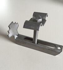 Gitterrost Sicherung Halteklammer Befestigung-Edelstahl,MW30x30, b.Rosthöhe 30mm