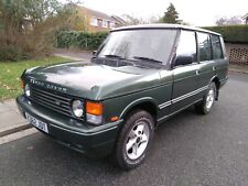 1993 CLASSIC RANGE ROVER VOGUE SE AUTO LPG GREEN SPARES OR REPAIRS NO RESERVE