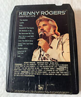Kenny Rogers Greatest Hits 8 Track