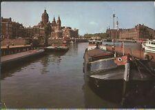 Alte Postkarte - Amsterdam - Prins Hendrikkade