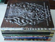 Morton Kuehnert auction catalogs * Lot of 9 *