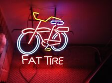 Fat Tire Bicycle Neon Light