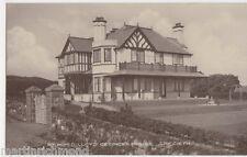Criccieth, The Right Hon. David Lloyd George's House RP Postcard, B535