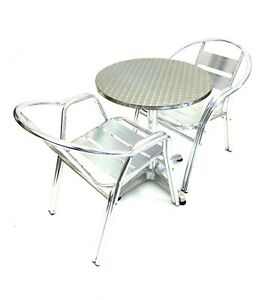 Garden Furniture Set, Balcony Furniture, Bistro Furniture, 1 table & 2 Chairs