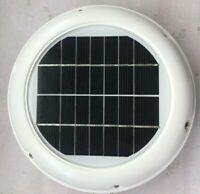 2.5w Solar POWERED Attic Fan Exhaust Ventilation Boat deck Caravan RV parts