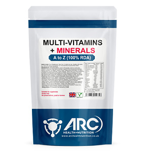 Multi Vitamins and Mineral 100% RDA - A-Z GOLD tablets VEGETARIAN