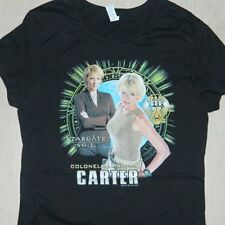 Stargate SG-1 Colonel Samantha Carter Baby Doll Juniors Style Shirt SMALL, NEW