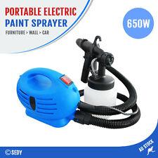 Portable Electric Paint Sprayer Spray Gun Painting Machine Furniture Car Wall AU