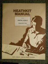 Heathkit Manual: Digital Scale Model Gd-1186